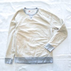 Levi's Retro Crew Neck Sweatshirt White